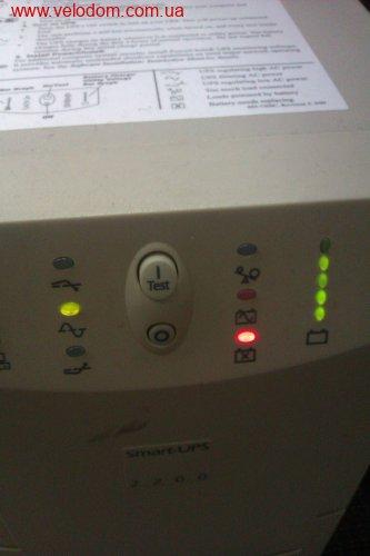 У ИБП первого поколения Smart UPS 600i исправить ошибку только...