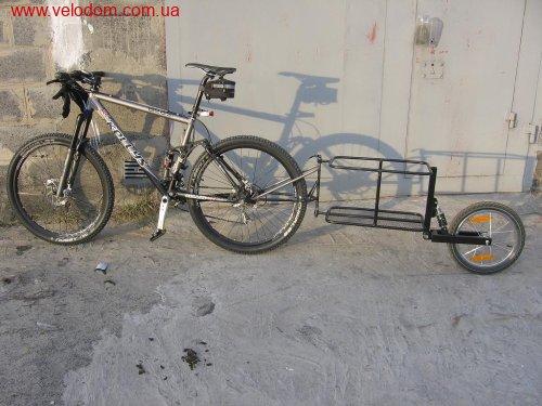 Велоприцеп грузовой своими руками