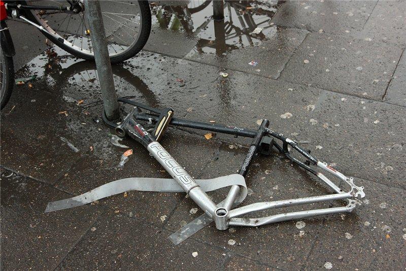 Противоугонное для велосипеда своими руками 40