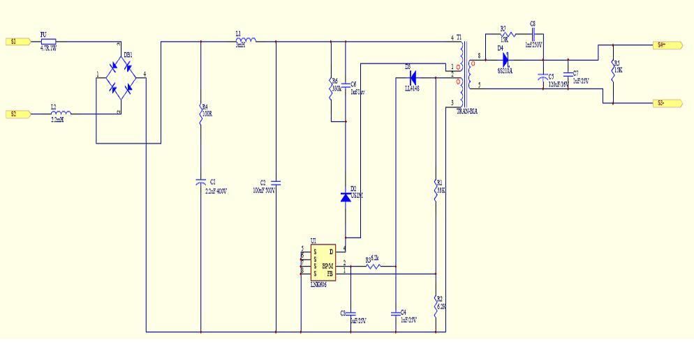Прожектор светодиодный навигатор электрическая схема