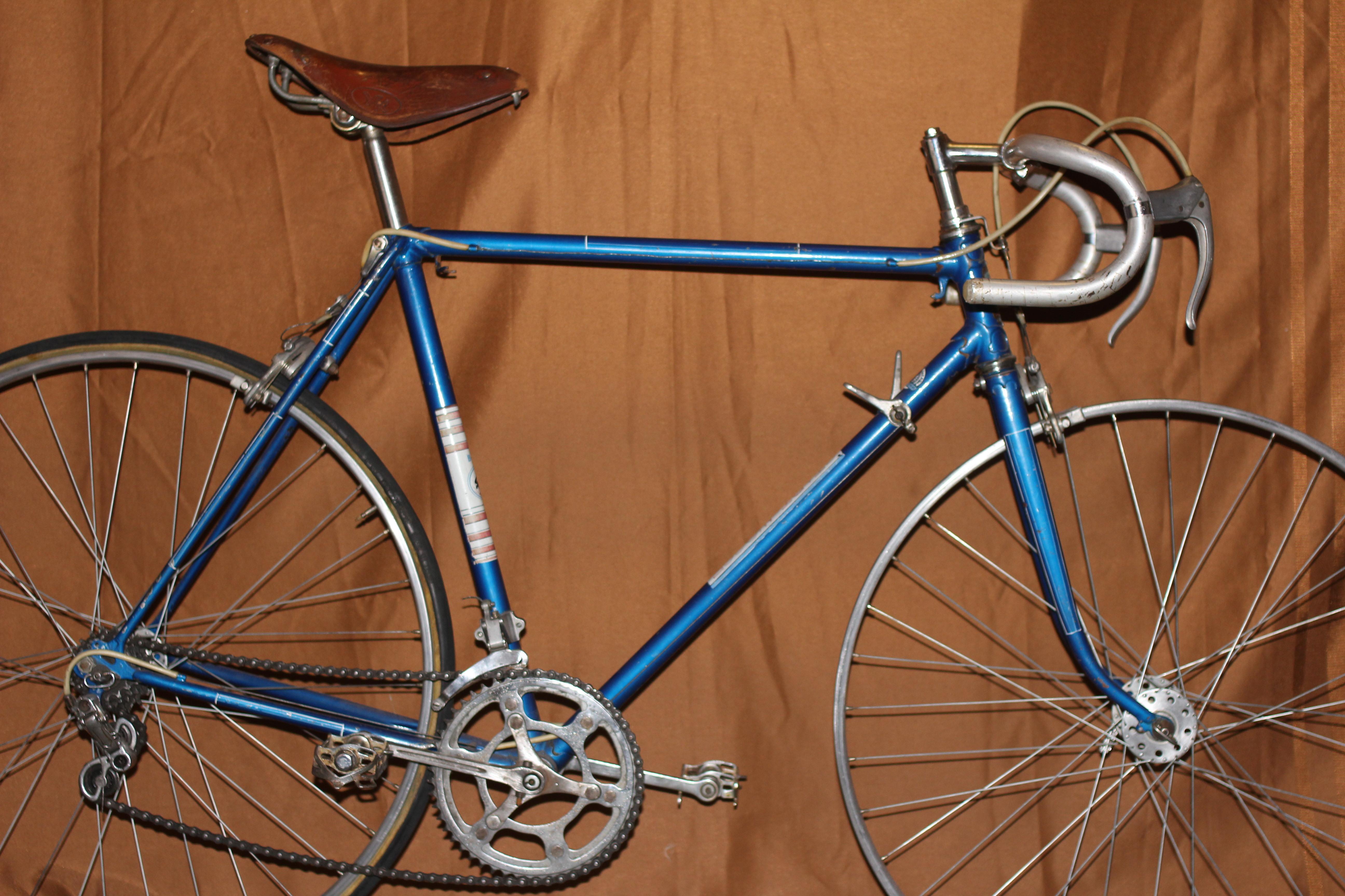 Ремонт велосипеда турист