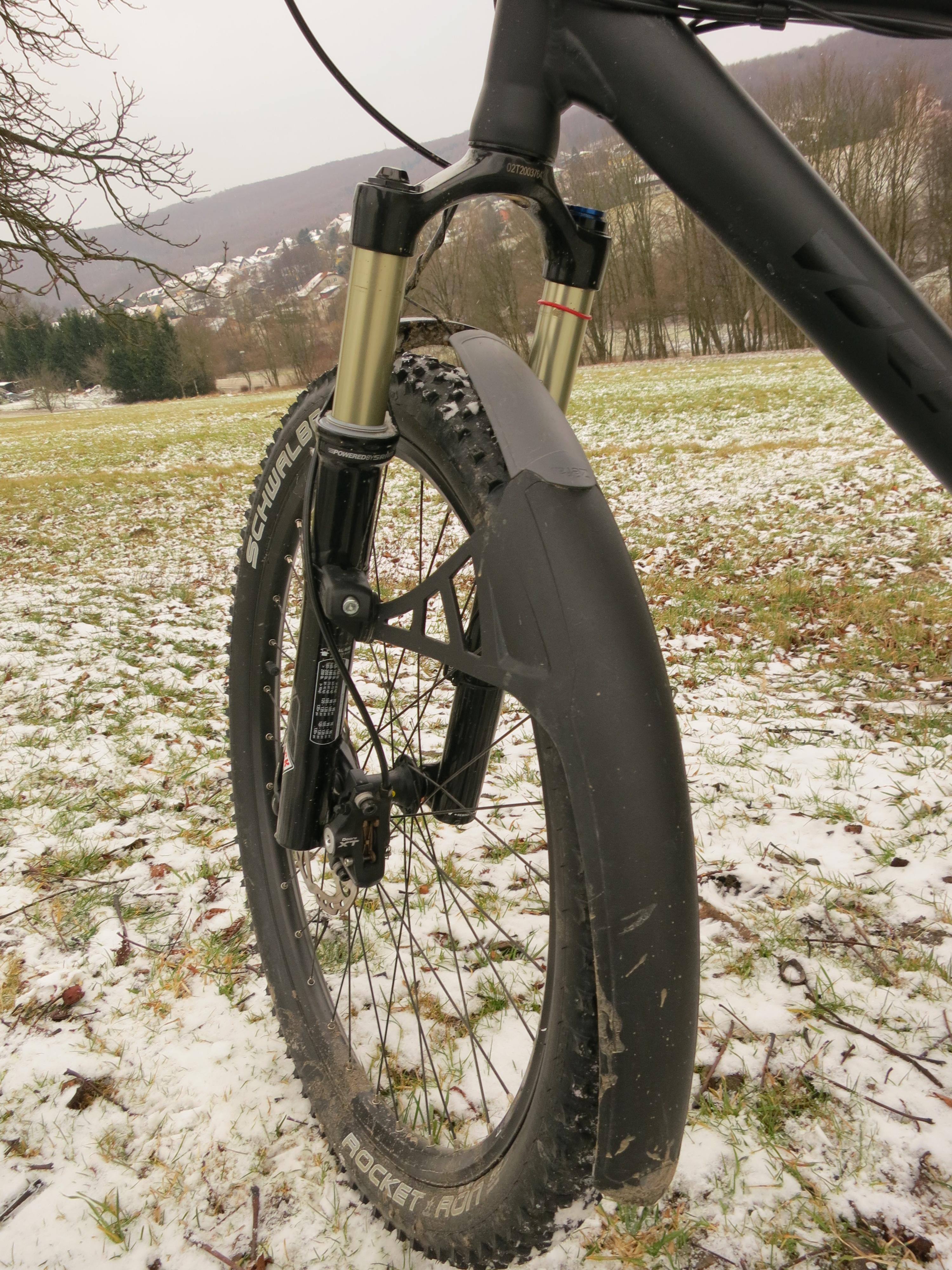 Крепление крыла на велосипед своими руками 91